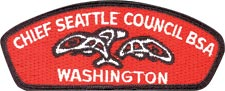 Boy Scouts Chief Seattle Council patch