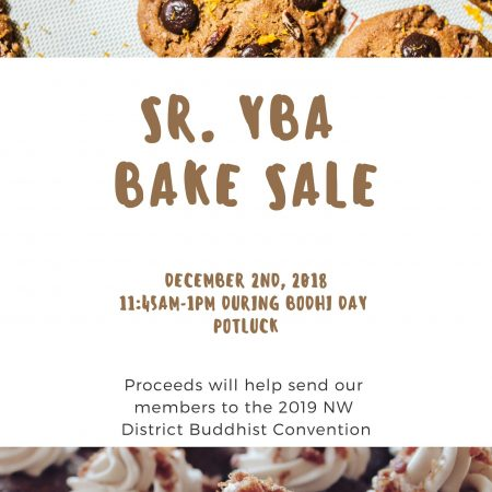 Senior YBA is Hosting a Bake Sale