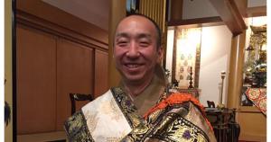Head Minister Katsuya Kusunoki